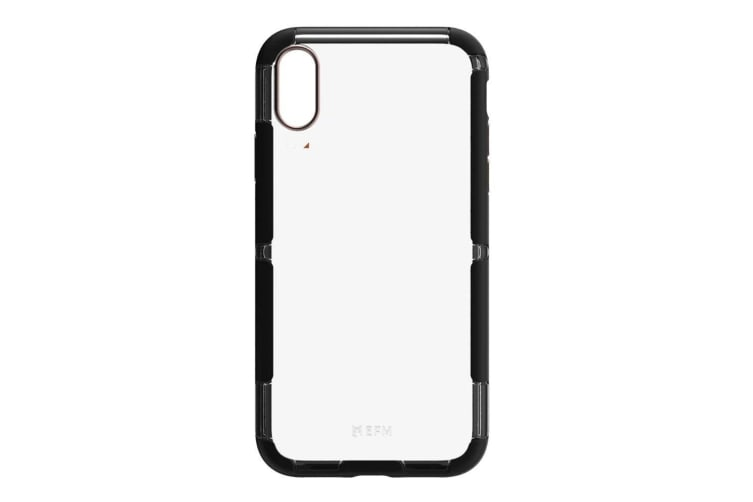 EFM Cayman D3O Case Armour Mobile Protect Cover for Apple iPhone XR Black/Copper