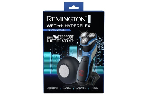 Remington WETech Hyperflex Rotary Men Shaver with Waterproof Bluetooth Speaker (XR1391AU)
