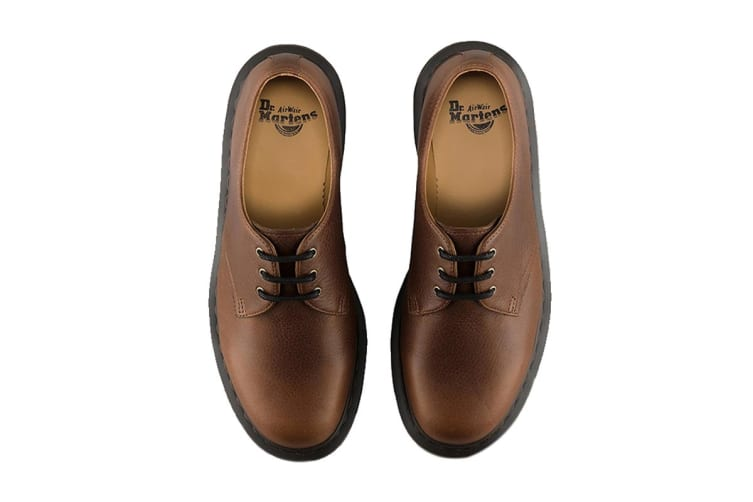 Dr. Martens 1461 Harvest Shoe (Tan, Size UK 7)