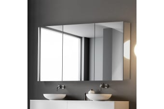 Cefito Bathroom Mirror Cabinet Wall Vanity Stainless Steel Shaving Storage 1200x720mm