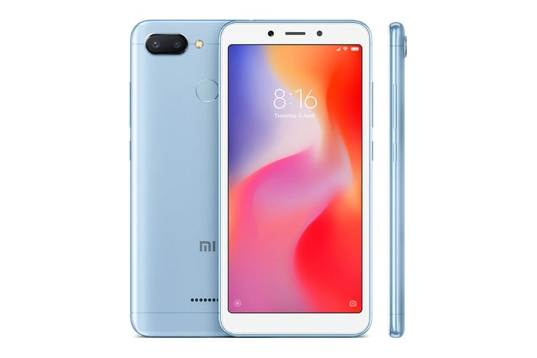 Xiaomi Redmi 6 (64GB, Blue)