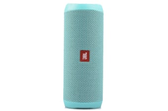 JBL Flip 4 Waterproof Bluetooth Speaker (Teal)