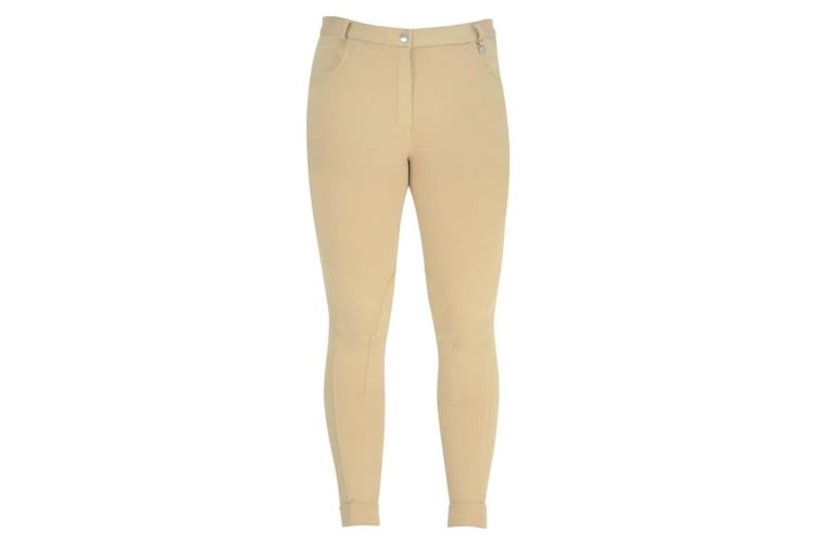 HyPERFORMANCE Melton Ladies Jodhpurs (Beige) (28in)