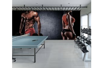 3D Exercise 077 Wall Murals Self-adhesive Vinyl, XL 208cm x 146cm (WxH)(82''x58'')