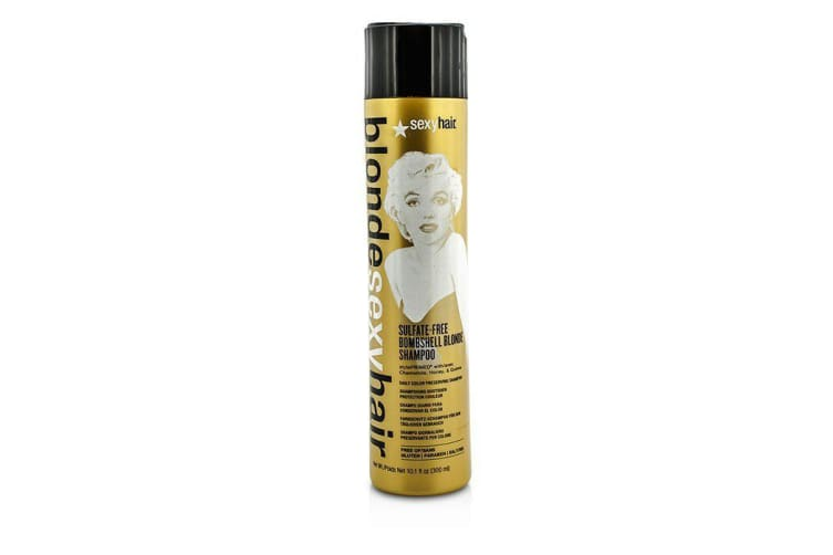 Sexy Hair Concepts Blonde Sexy Hair Sulfate-Free Bombshell Blonde Shampoo (Daily Color Preserving) 300ml