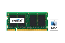 Crucial 2GB DDR2 800MHz (PC2-6400) CL6 SODIMM 200 Pin for Mac