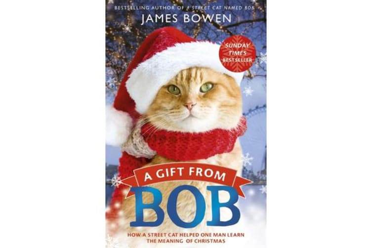 A Gift from Bob - How a Street Cat Helped One Man Learn the Meaning of Christmas