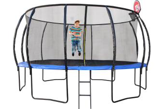 14ft Trampoline With Basketball Hoop