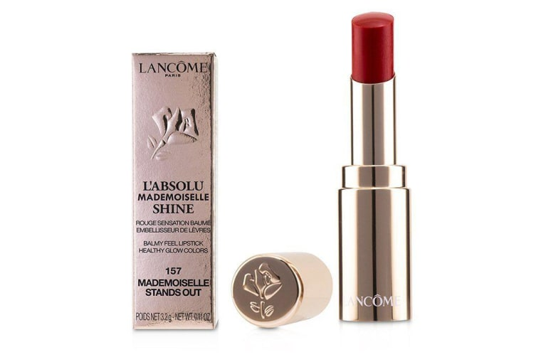 Lancome L'Absolu Mademoiselle Shine Balmy Feel Lipstick - # 157 Mademoiselle Stands Out 3.2g/0.11oz