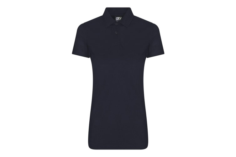 Pro RTX Womens/Ladies Pro Polyester Polo (Navy) (L)
