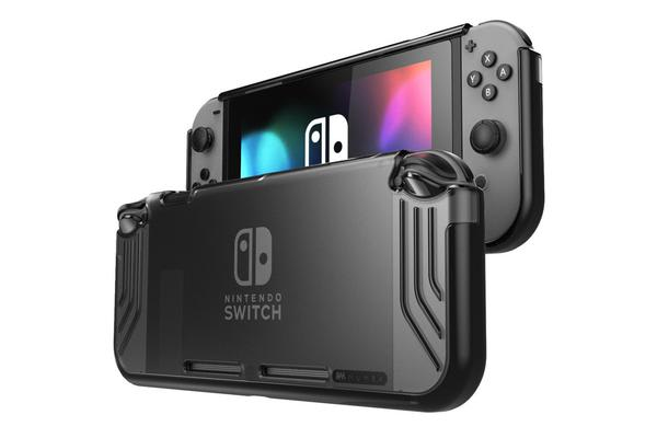 Mumba Nintendo Switch Slimfit Hybrid Protective Case - Black Keep your Switch in mint condition