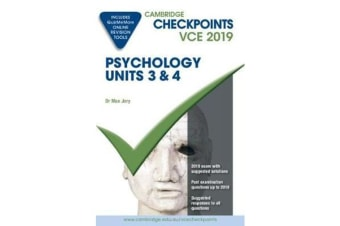 Cambridge Checkpoints VCE Psychology Units 3 and 4 2019 and QuizMeMore
