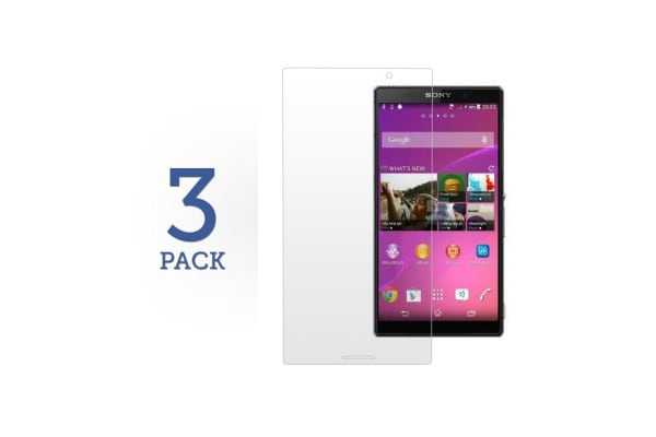 3 Pack Screen Protector for Sony Xperia Z3