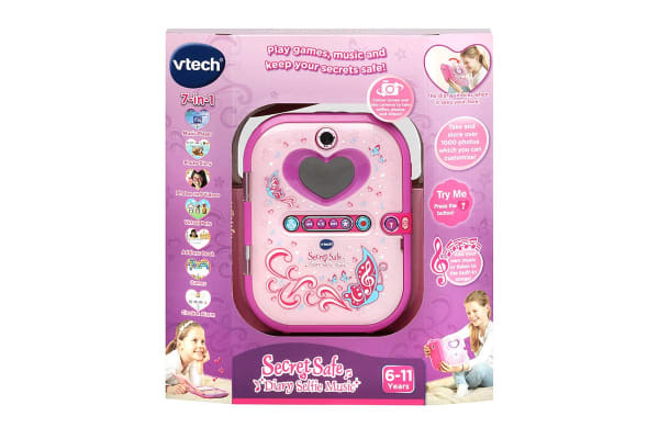 Vtech Secret Safe Diary Selfie Music