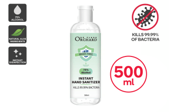 75% Alcohol Antibacterial Instant Hand Sanitiser (500ml)