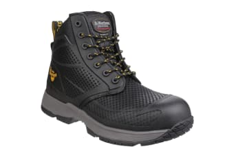 Dr Martens Mens Calamus S1P Non-Metallic Lace up Safety Boots (Black) (13 UK)