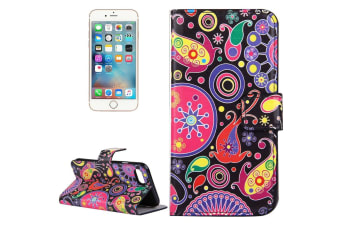For iPhone 8 7 Wallet Case Colourful Acaleph Durable Protective Leather Cover