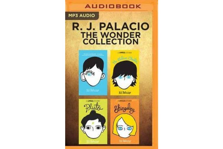 R. J. Palacio - The Wonder Collection - Wonder, the Julian Chapter, Pluto, Shingaling