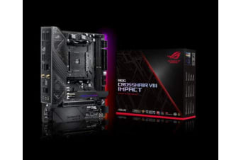 ASUS ROG CROSSHAIR VIII IMPACT AMD AM4 X570 Mini-DTX Enthusiast Gaming