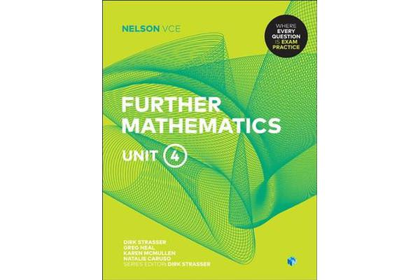 Nelson VCE Further Mathematics Unit 4 (Student Book with 4 Access Codes)