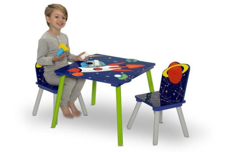 Delta Children Alfie The Astronaut Table and Chairs Set
