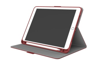 Cygnett TekView Slimline Case with Apple Pencil Holder for iPad 9.7'' - Red (CY2168TEKVI)