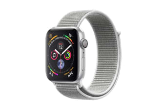 Apple Watch Series 4 (Silver, 44mm, Seashell Sport Loop, GPS Only)