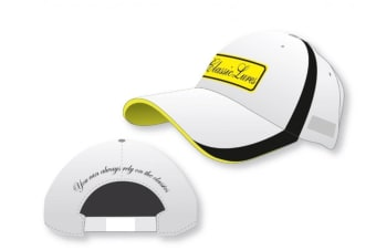 Classic Lures Embroidered Cotton Fishing Cap with Adjustable Strap