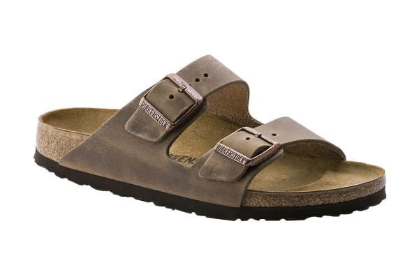 fccb5bc74a02 Birkenstock Arizona Oiled Leather Sandal (Tobacco Brown