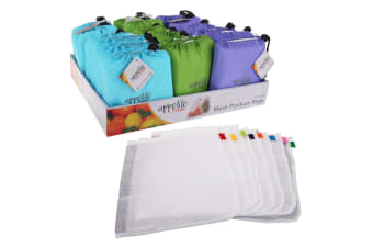 Appetito Reusable Produce Bags - Set Of 8