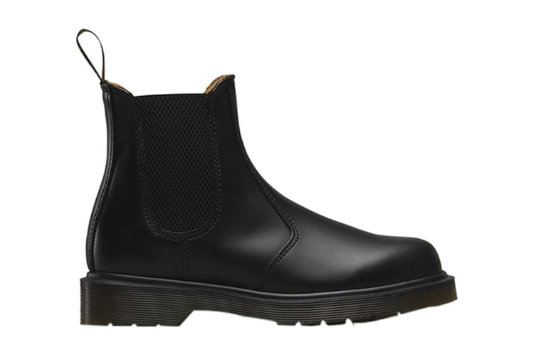 Dr. Martens 2976 Smooth Chelsea Hi Top Shoe (Black, Size 10 UK)