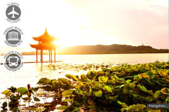 CHINA: 11 Day China Encounter Tour Including Flights for One or Two