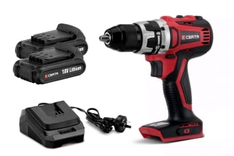 Certa PowerPlus 18V Brushless Drill Kit