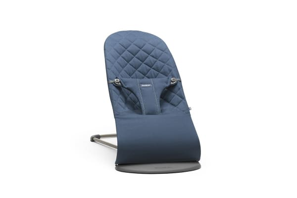 BabyBjorn Bouncer Bliss (Midnight Blue/Cotton)