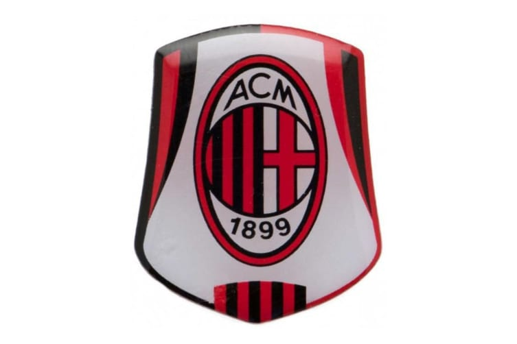 AC Milan Badge (Multi-Colour) (One Size)