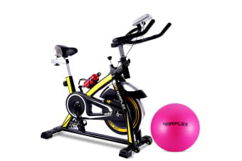 NEW NORFLEX Spin Bike Flywheel Commercial Gym Home Exercise Workout BK*65CM BALL