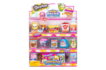 Shopkins 8 Piece Mini Pack Shopper Pack Collectors Edition