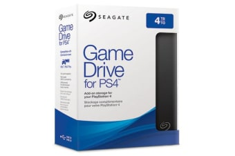 Seagate Game Drive STGD4000400 external hard drive 2000 GB Black