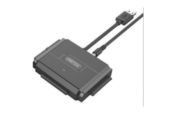 Unitek UNITEK USB3.0 to IDE+SATA Converter. Power Adapter & USB3.0 Cable Included