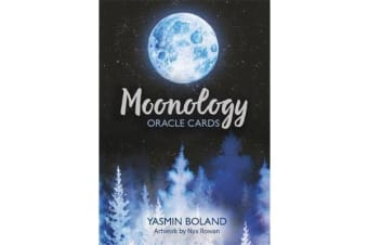 Moonology Oracle Cards - A 44-Card Deck and Guidebook
