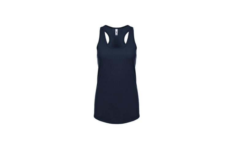 Next Level Womens/Ladies Ideal Racer Back Tank Top (Midnight Navy) (XL)