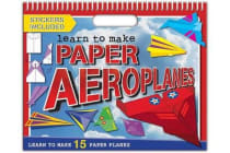 Paper Model Pad - Aeroplanes - Colouring & Activity