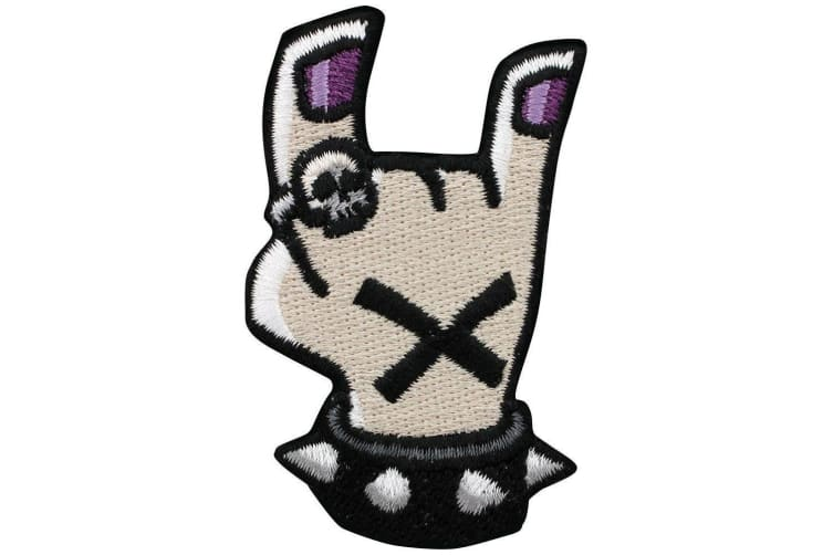 Grindstore Rock Hand Patch (Multicoloured) (One Size)