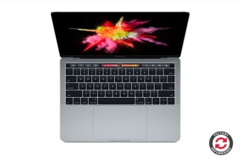 "Apple 13"" MacBook Pro with Touch Bar (3.1GHz i5, 256GB, Space Grey) - MPXV2 - Apple Certified Refurbished"