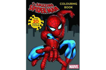 Marvel Spider-Man Colouring Book