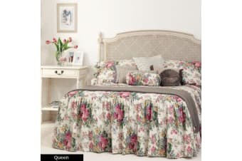 ROSEWOOD Bedspread QUEEN by Gainsborough