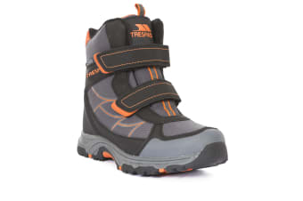 Trespass Childrens/Kids Julien Waterproof Winter Boots (Carbon) (1 UK)