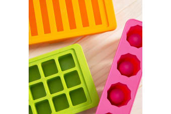 Gourmet Kitchen 3 Pieces Ice Tray Set