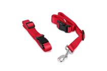 Pawever Pets Hands Free Dog Leash (Red)