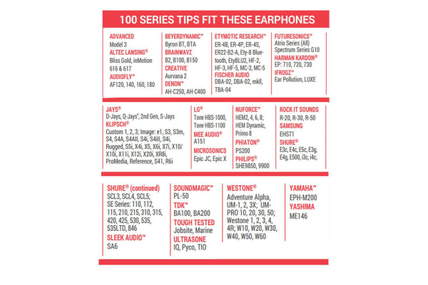 Comply Tsx-100 Series Assorted Ear Tips